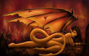 Dragon Lady by KiraTheArtist