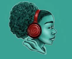 headphones by KiraTheArtist