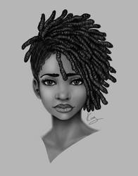 Locs Style by KiraTheArtist