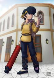 Ryoga lost in Blue by freelancemanga