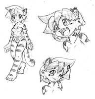 Tina update sketch by freelancemanga