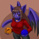 Wrytergirl's orbs by freelancemanga