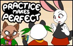 Practice makes Perfect #38 by freelancemanga