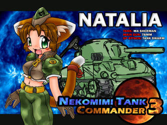 Nekomimi Tank Commander 3 by freelancemanga
