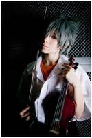 Kaworu with violin by Non-Smoking