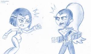 Sketch Fight Go! by SB99stuff
