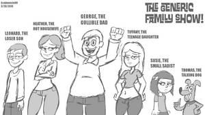 The Generic Family Show! by SB99stuff