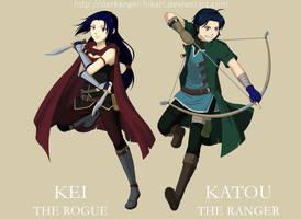 BeyFanta :: Rogue and Ranger by darkangel-hikari