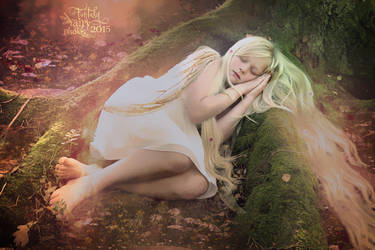 Little Sleeping Fairy by juliet981