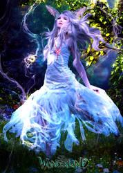 Wonderland White Rabbit by juliet981