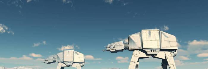 Hoth battle by dreamwalker001a
