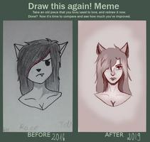 Draw It Again by Adlain-Arts
