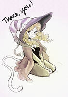 Thank you for 500! by arienmarionette