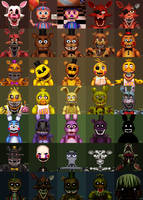 Fazbear's Family Fright (Updated) by Paleodraw