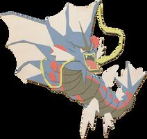 Mega Gyrados by Paprik-a