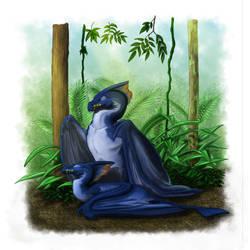 Sleeping Dragons by Luthrai