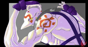 Necro SF3 by blueyoshimenace