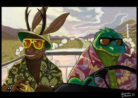Fur And Loathing in Las Vegas by blueyoshimenace