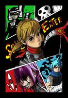 Soul Eater Print by blueyoshimenace