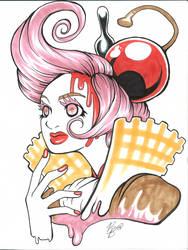 Kyary Pamyu Pamyu- Saigo no IceCream by blueyoshimenace