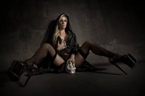 fallen nun by creativephotoworks