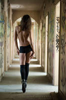 corridor by creativephotoworks