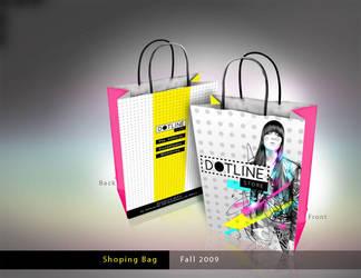 DOTLINE Shoping bags by neneholic