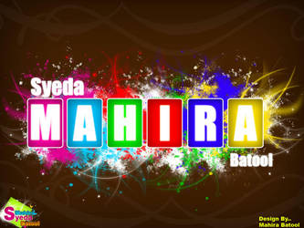 syedamahirabatool by MahiraBatool