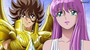 Seiya and Saori by Huramechi