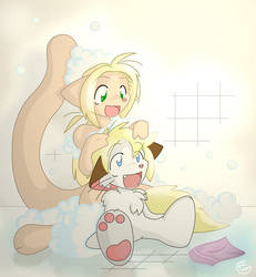 Time for Bubbles by tei