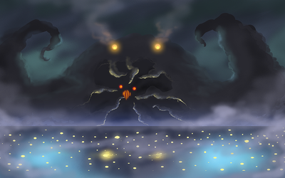 Monster : corrupted lunar mist by AngelicMoonSushi