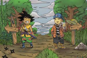Dragon Ball Explores New World by tsim