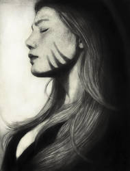 Freckled beauty :) by IlmarinenKowal