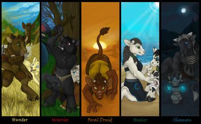 Choose your class by Bear-hybrid
