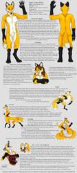 Lance foxx reference sheet by Bear-hybrid