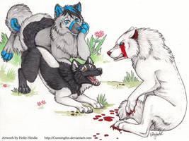 Wanna play? .....NO. by Bear-hybrid