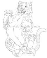 Silly tiger by Bear-hybrid