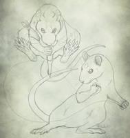 Warrior Rats by Bear-hybrid