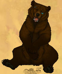 Happy bear by Bear-hybrid