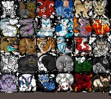 Icon Batch 1 by Bear-hybrid