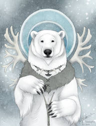Inuit Bear by Bear-hybrid