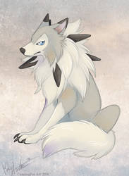 Pokewolf by Bear-hybrid