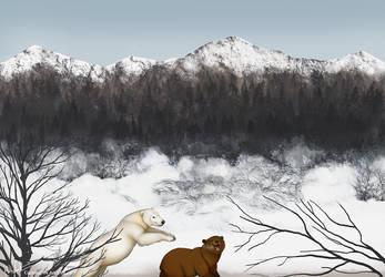 Snowbound country by Bear-hybrid