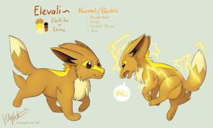 Elevoli - Pokefusion by Bear-hybrid