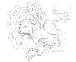 Aquatic Podcat by Bear-hybrid