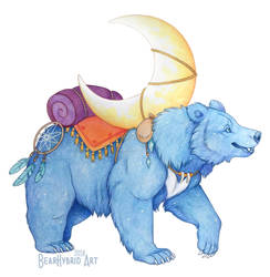 Moon Traveler by Bear-hybrid