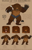 Werebear YCH base commissions - CLOSED by Bear-hybrid