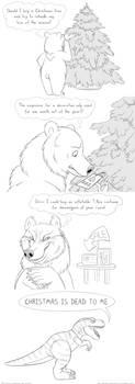 Christmas or Cretaceous by Bear-hybrid