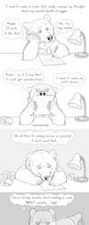 Writer's Anxiety by Bear-hybrid