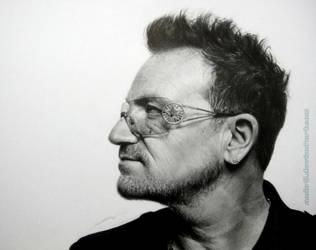 Bono (U2) by AmBr0